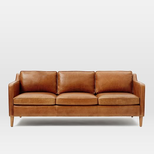 Hamilton Leather Sofa West Elm