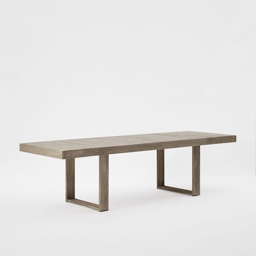 portside expandable dining table west elm. Black Bedroom Furniture Sets. Home Design Ideas