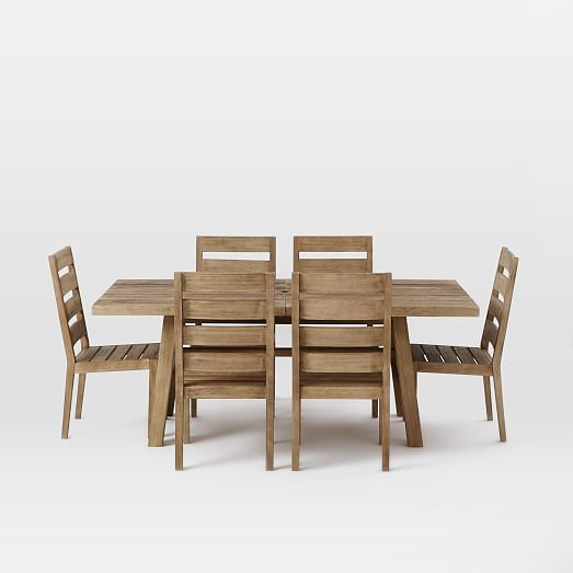 Jardine Expandable Dining Set west elm : jardine expandable dining set table 6 chairs 1 c from www.westelm.com size 523 x 523 jpeg 17kB