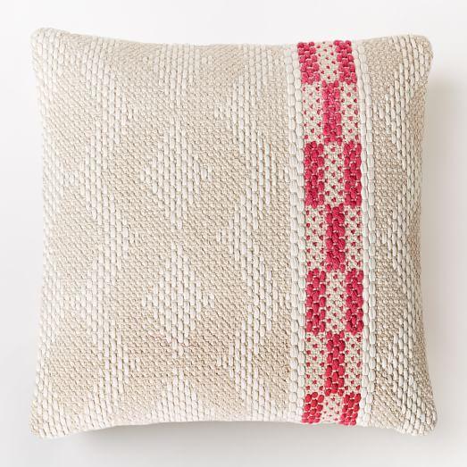 Diamond Color Stripe Pillow Cover - Shockwave