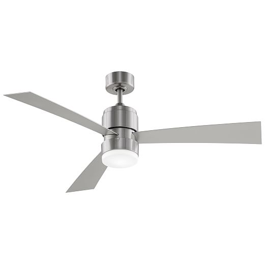 Modern Metal Wood LED Ceiling Fan