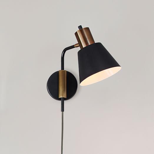 west elm rejuvenation cylinder sconce short west elm. Black Bedroom Furniture Sets. Home Design Ideas