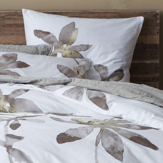 organic orchid duvet cover twin west elm. Black Bedroom Furniture Sets. Home Design Ideas