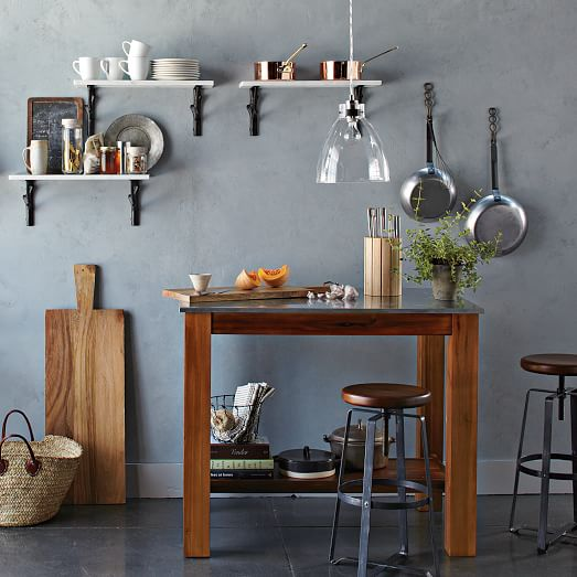 10 Kitchen And Home Decor Items Every 20 Something Needs: Rustic Kitchen Island