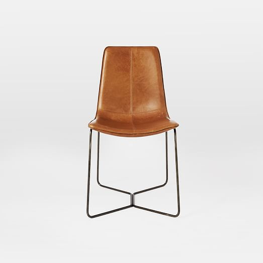 Leather Slope Dining Chair west elm : leather slope dining chair sets c from www.westelm.com size 523 x 523 jpeg 10kB