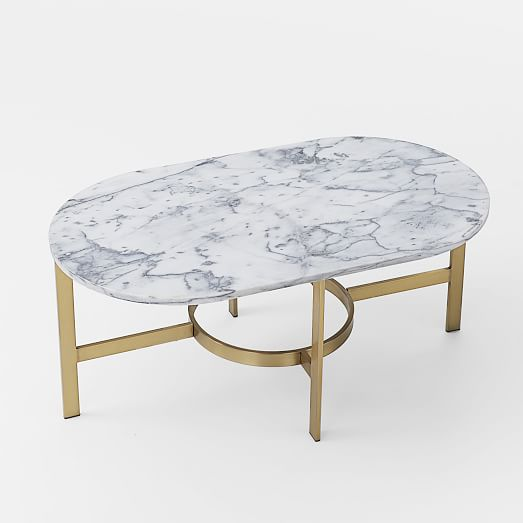 Marble Coffee Table Australia: Marble Oval Coffee Table