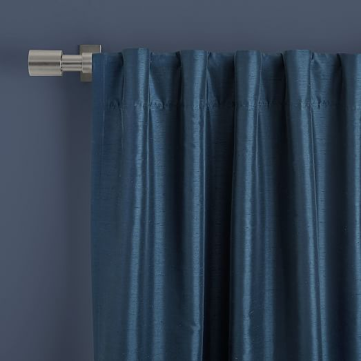 Greenwich Curtain + Blackout Liner - Blue Lagoon