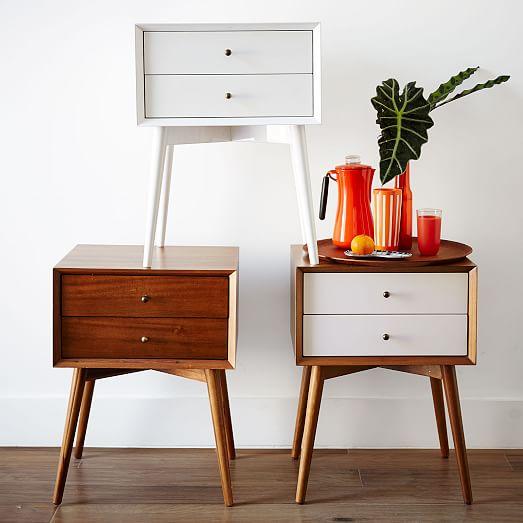 mid-century modern nightstands 1