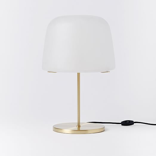 Mushroom Table Lamp With Amber Glass Shade ·  Http://rk.weimgs.com/weimgs/rk/images/ Awesome Design