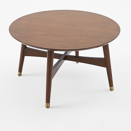 Reeve Mid-Century Coffee Table - Walnut