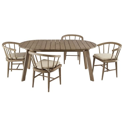 Dexter Outdoor Expandable Dining Table West Elm