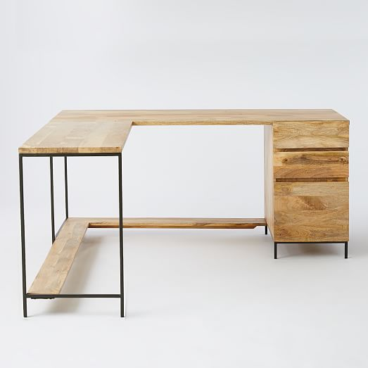 Industrial Modular Desk Set West Elm
