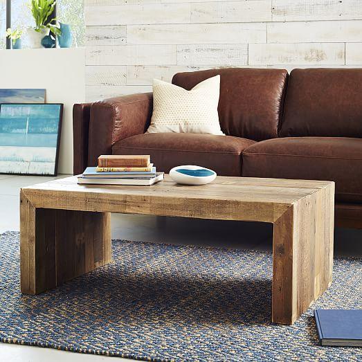 emmersontm reclaimed wood coffee table west elm With west elm emmerson reclaimed wood coffee table
