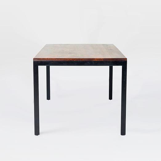 Metal + Wood Dining Table  west elm