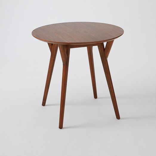 mid century bistro table west elm