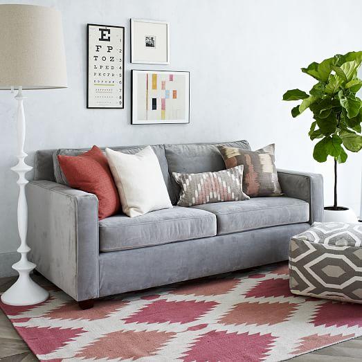 henry sofa west elm. Black Bedroom Furniture Sets. Home Design Ideas