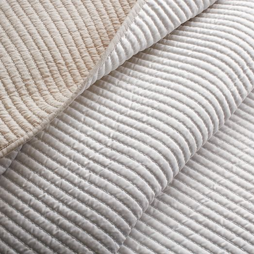 Channel Stitch Coverlet