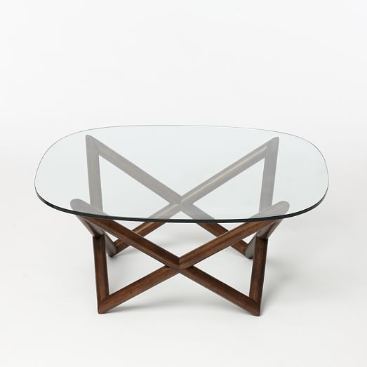 Wooden Spindle Table ~ Spindle coffee table west elm