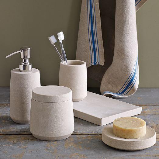 Stoneware Bath Accessories West Elm