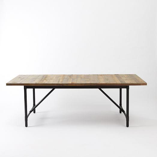 emmerson reclaimed wood expandable dining table west elm. Black Bedroom Furniture Sets. Home Design Ideas