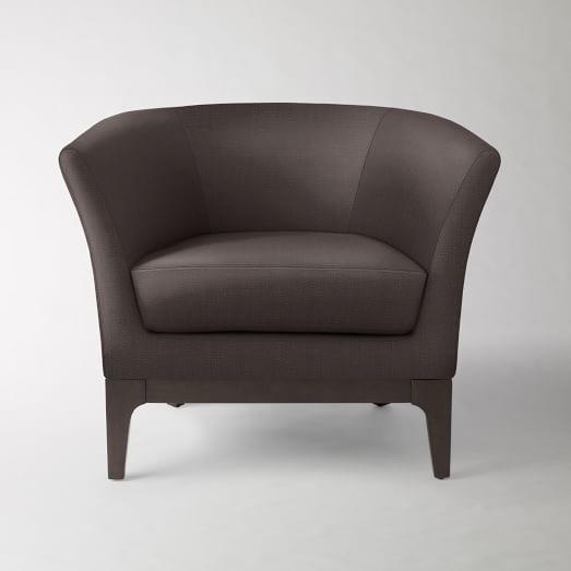 Tulip Chair, Basketweave, Iron