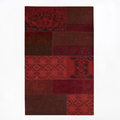 Cadiz Rug, 5'x8', Red
