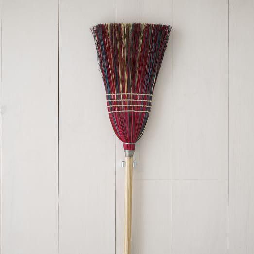 Berea College Straw Broom, Multicolor
