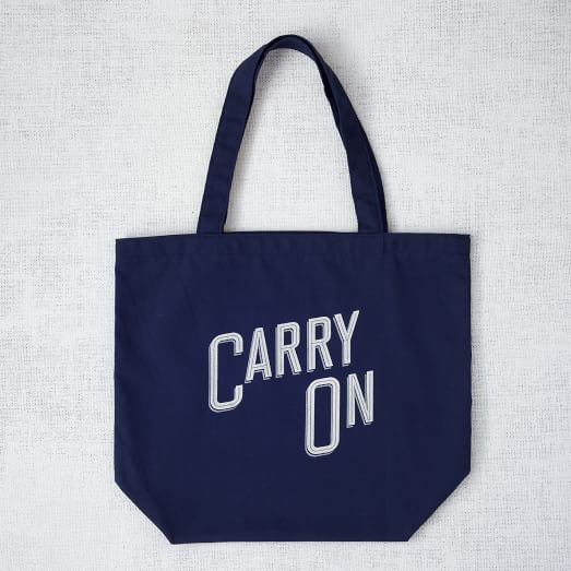 Market Tote Bag, Carry On