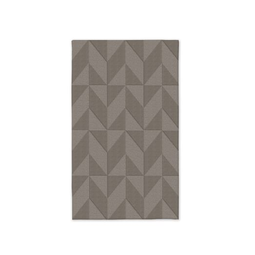 Custom Andes Rug , Platinum, 3'x5'