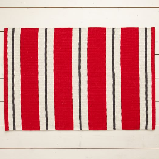 Floor Mat, Bold Stripe