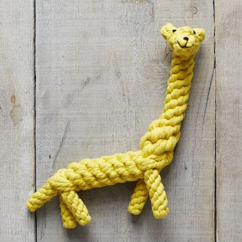 Rope Toy, Giraffe, Small