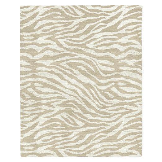Zebra Stripe Special Order Wool Rug