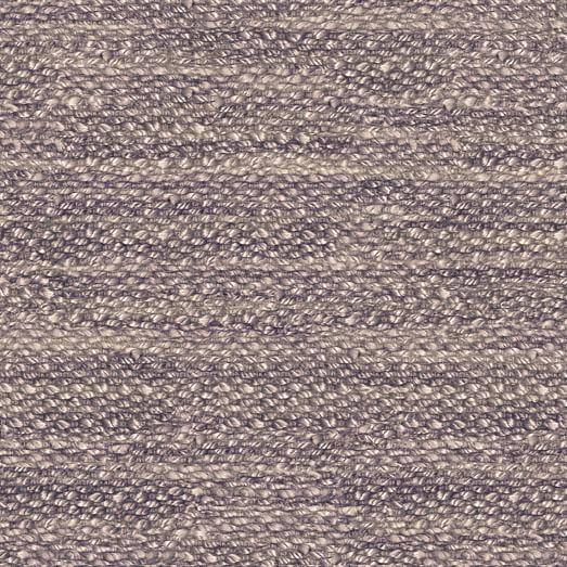 SPO Reef Jute Rug, Dark Iris, 16''x16'' Swatch