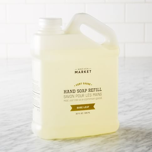 Common Good®, Hand Soap, 32 oz, Refill, Sage Leaf