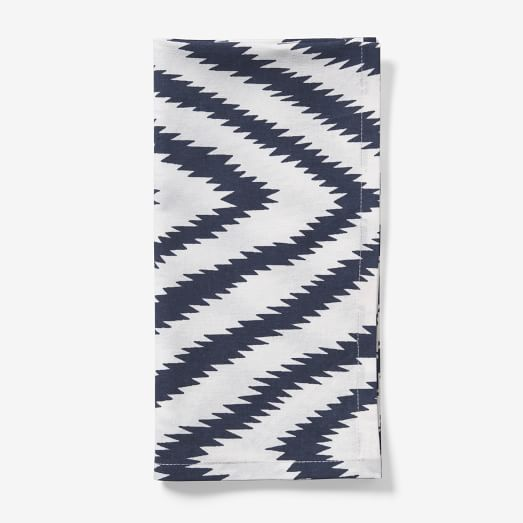 Safari Cotton Napkin, Medium Blue, Set of 4