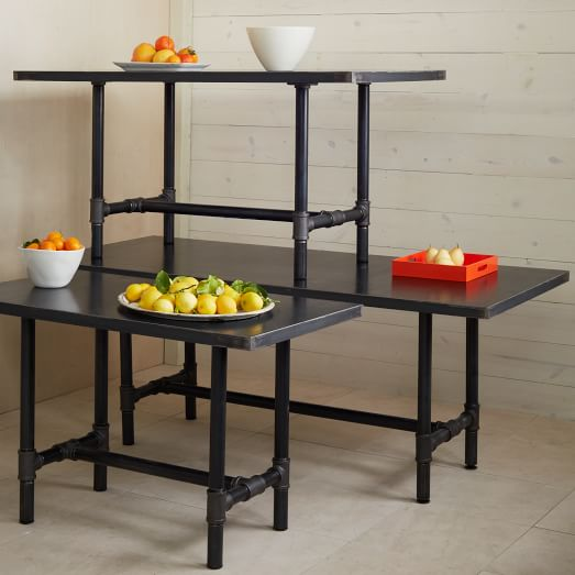 Design Workshop Metal Top Table, 48