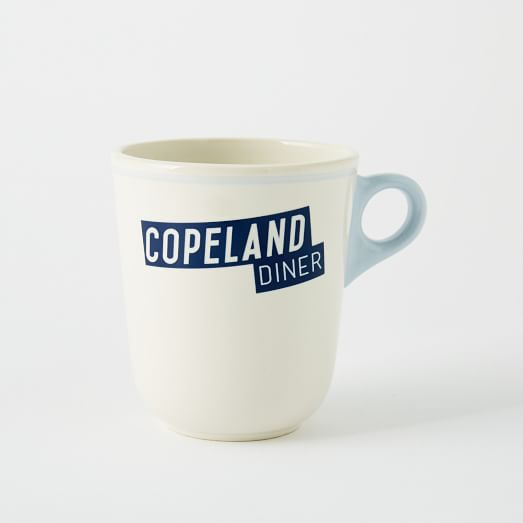 Fishs Eddy Road Trip Diner Mug - Copeland