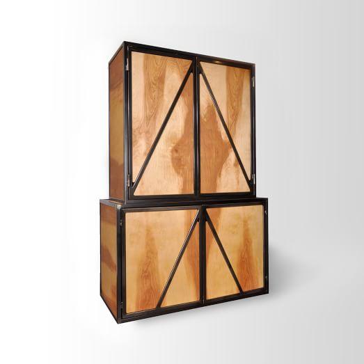 Steel Frame Armoire