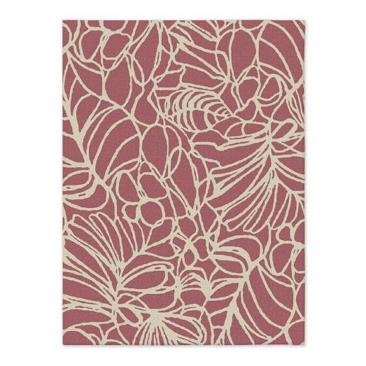 Sketch Rug - Macaroon Pink