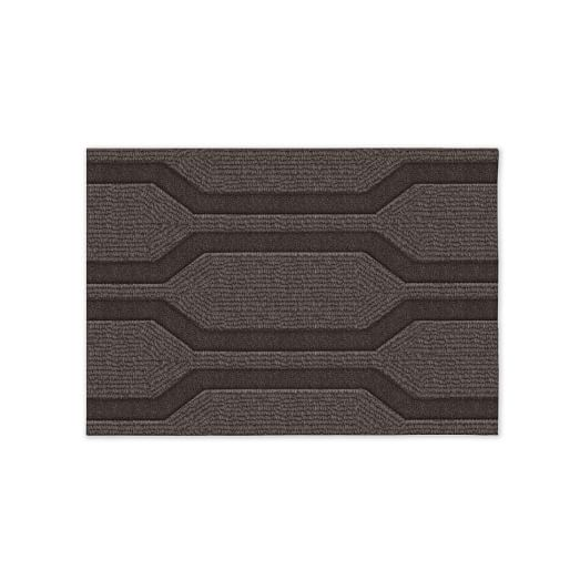 Honeycomb Textured Rug - Sable