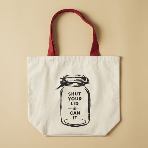 Market Tote Bag, Can It