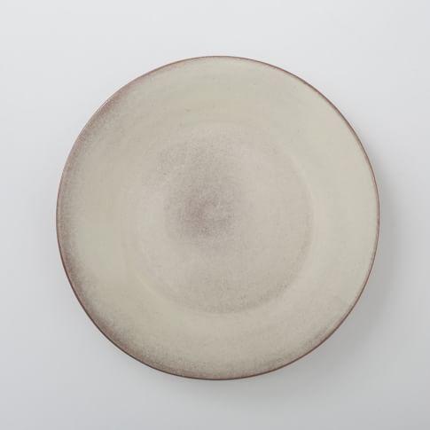 Glazed Terracotta, Salad Plates, Set of 4, White