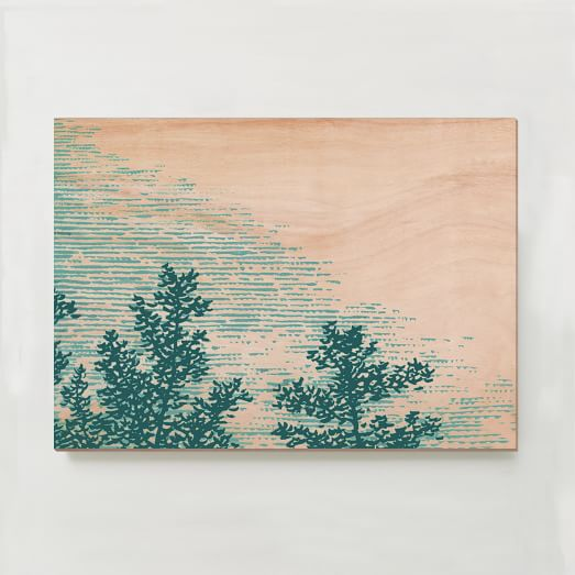WE Print Collection, Tree top II