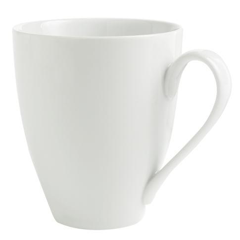 Organic Shaped Mug, Set of 4