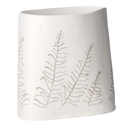 Dbo Vase, Leaf, Oval