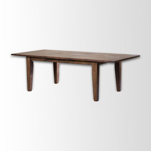 Sundried Pine Expandable Dining Table, Dusk