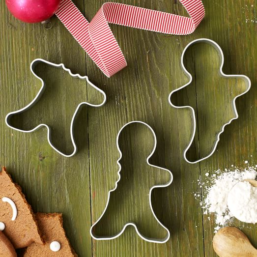 Cookie Cut Set, Gingerman, Set of 3