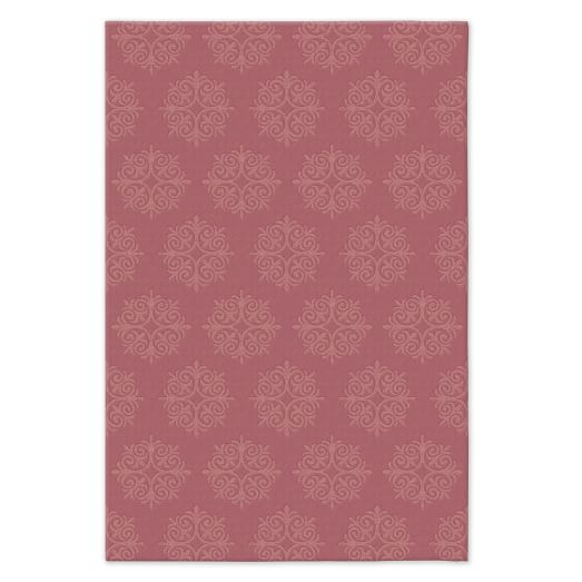 Emblem Wool Rug - Macaroon Pink