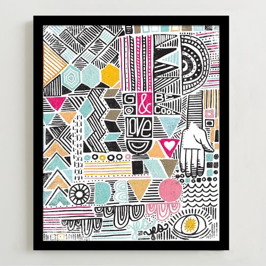 Minted for West Elm, Geo Print