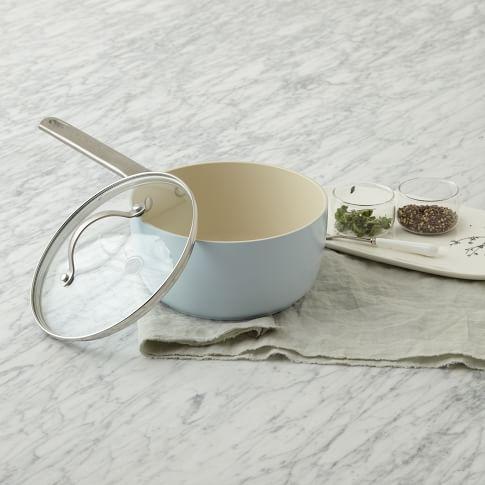 Greenpan Color Padova Cookware, 2 Qt Saucepan